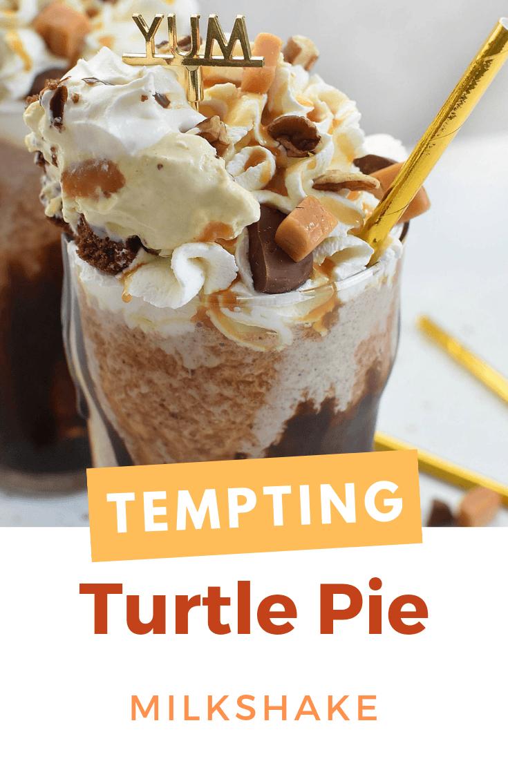 Turtle Pie Milkshake Recipe