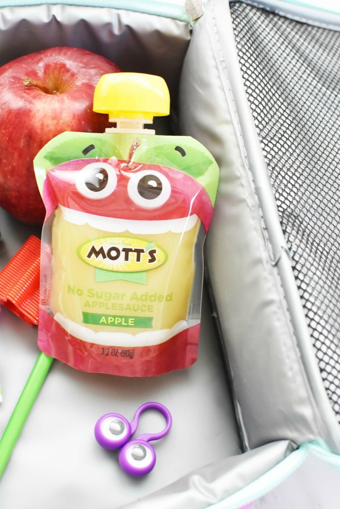 no sugar added applesauce pouch