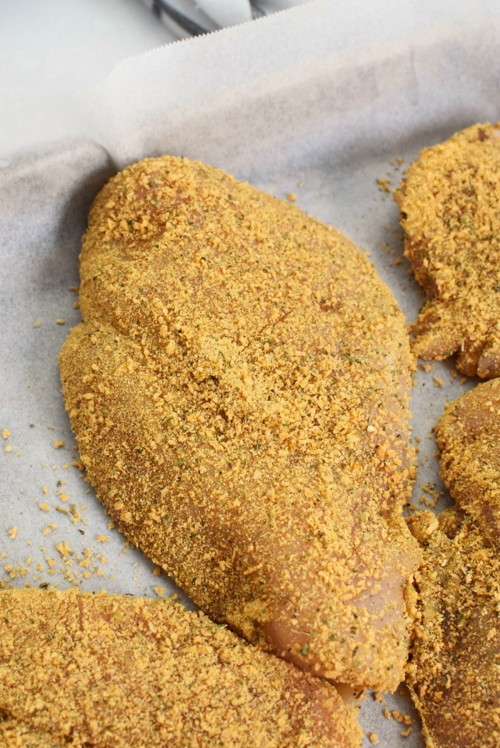 Breaded McCormick Sheet Pan Chicken
