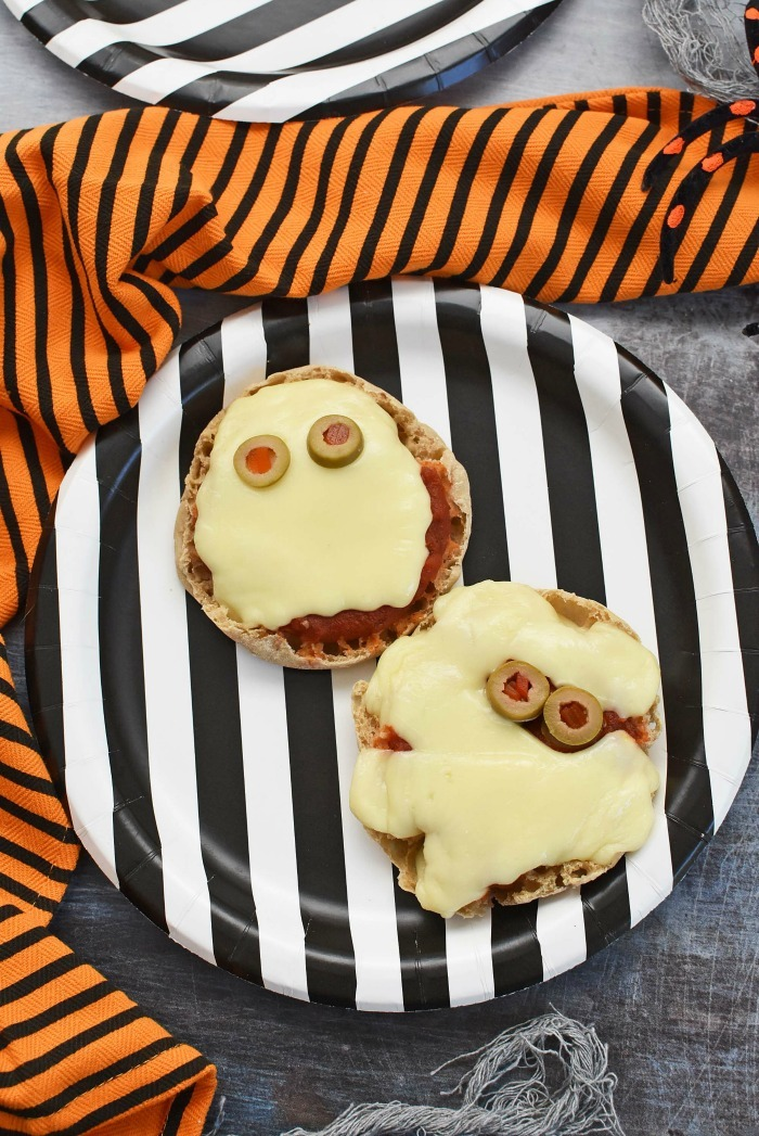 Cooper Cheese Halloween pizzas