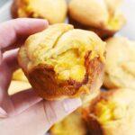 Macaroni Crescent Muffins