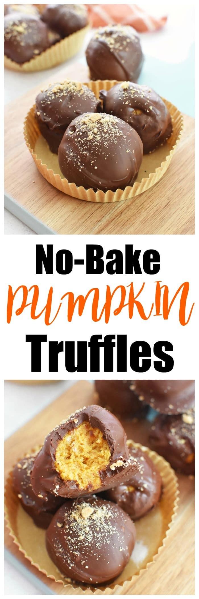 The Best Pumpkin Truffles Recipe