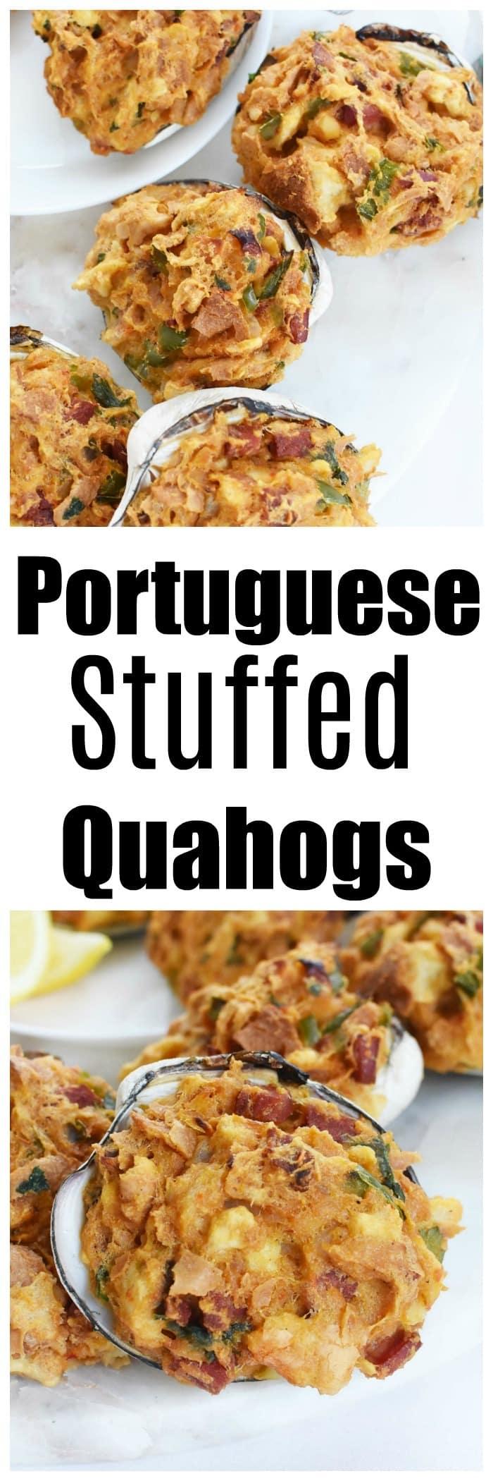 Portuguese Stuffed Quahogs