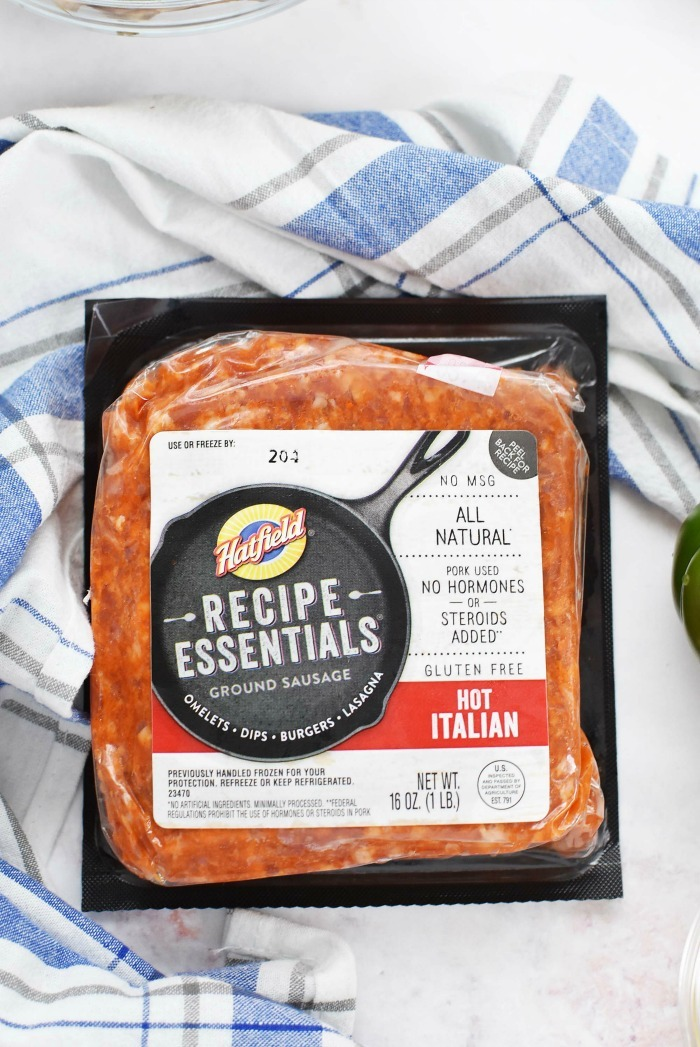 hatfield recipe essentials hot Italian Sausage