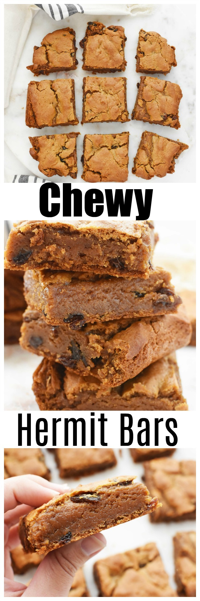 Chewy Hermit Bars Recipe