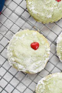 Grinch Meltaway Cookies