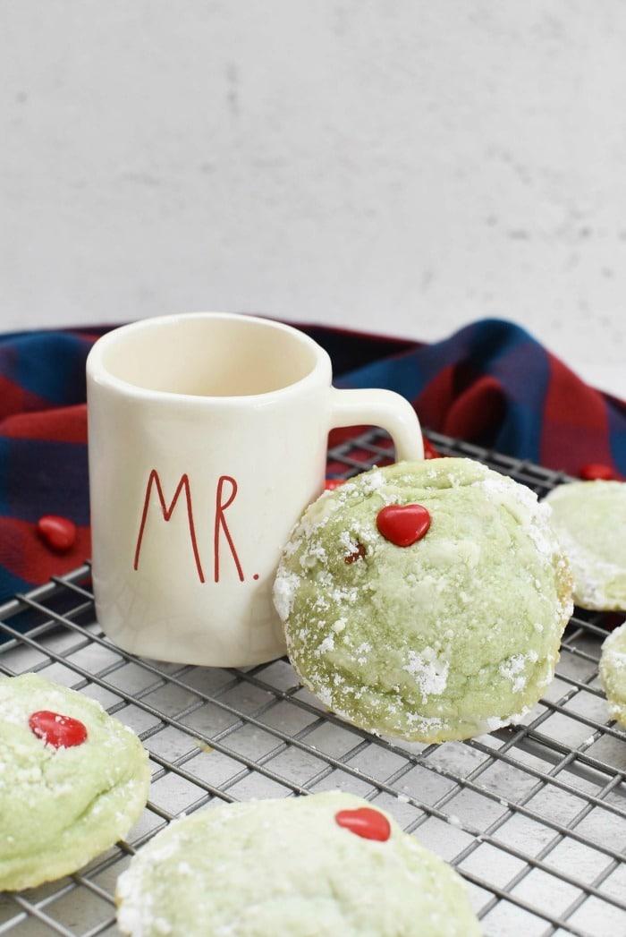 Mr Grinch Cookies