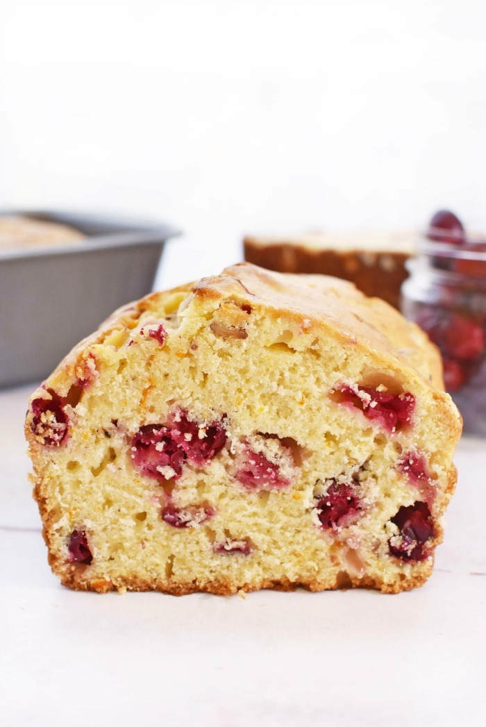 Orange Cranberry Loaf Bread