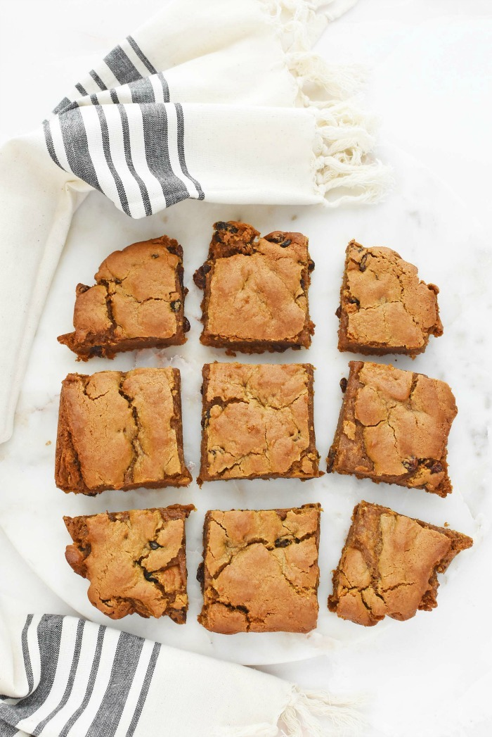 Soft & Chewy Hermit Bars