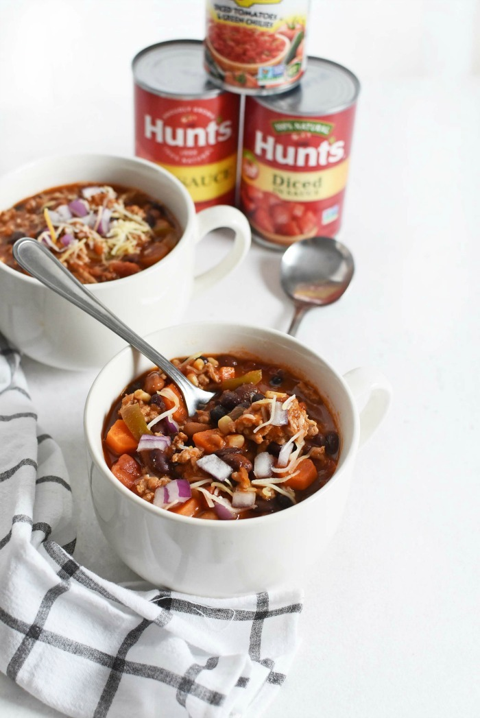 Healthy Pork Chili in a Cup