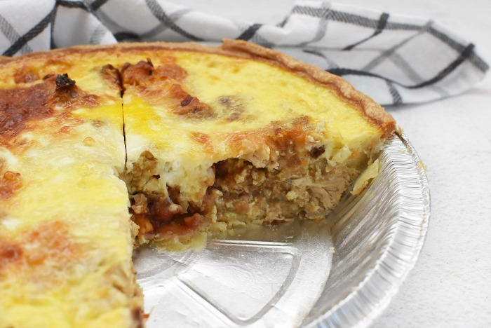 Leftovers Quiche Recipe