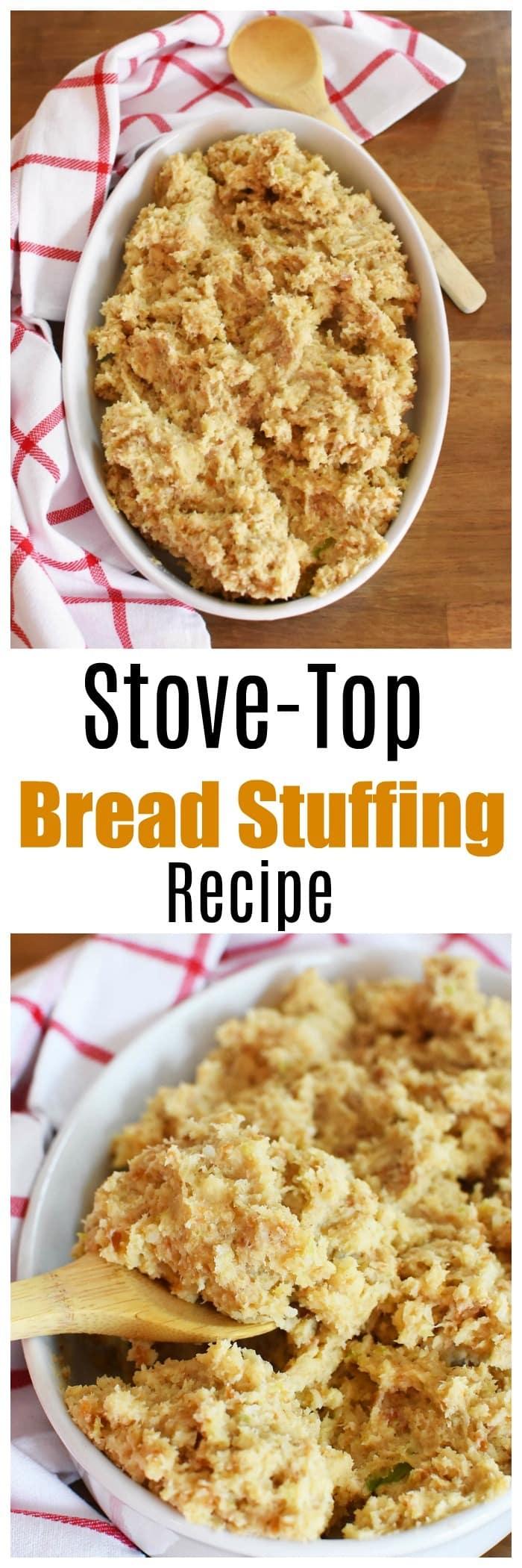 Easy Bread Stuffing Recipe