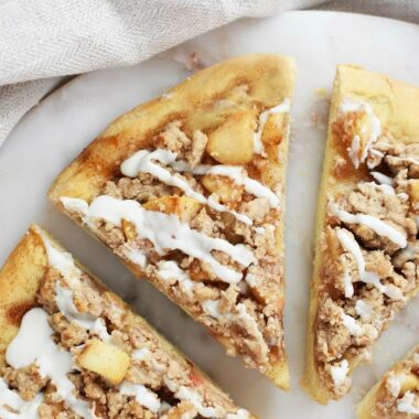 Sweet Apple Dessert Pizza