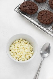 White chocolate morsels