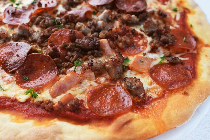 30 Minute Meat Lovers Pizzas