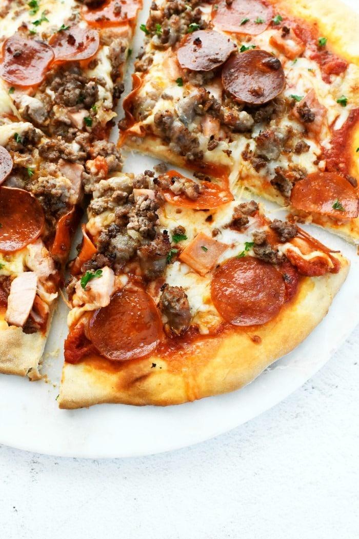 Boston Meat Lover's Pizza