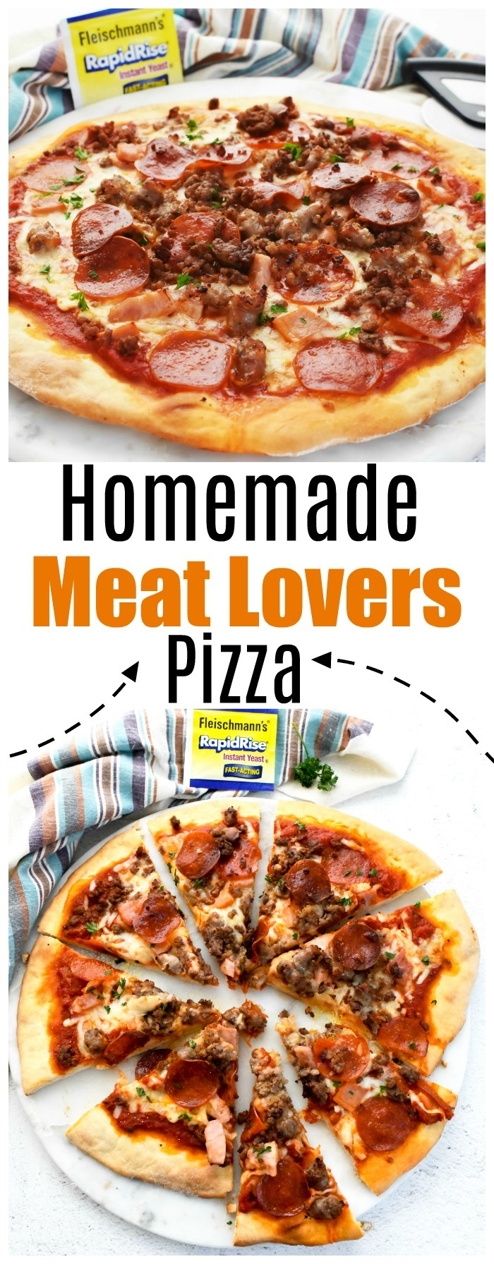 Homemade Meat Lovers Pizza Recipe