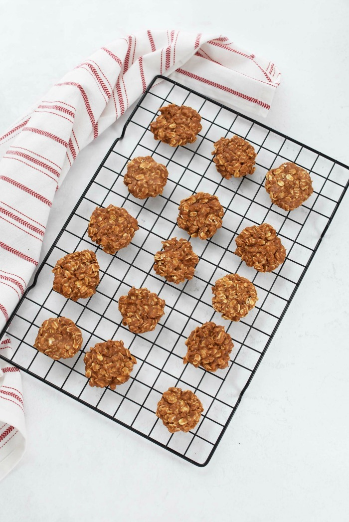 Peanut Butter Oat Cookies Recipe