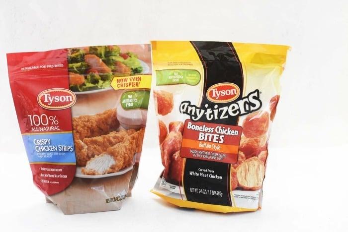 Tyson chicken bags