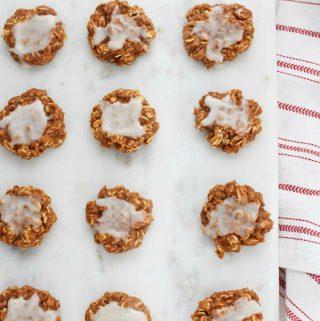 Vanilla Iced PB2 Cookies