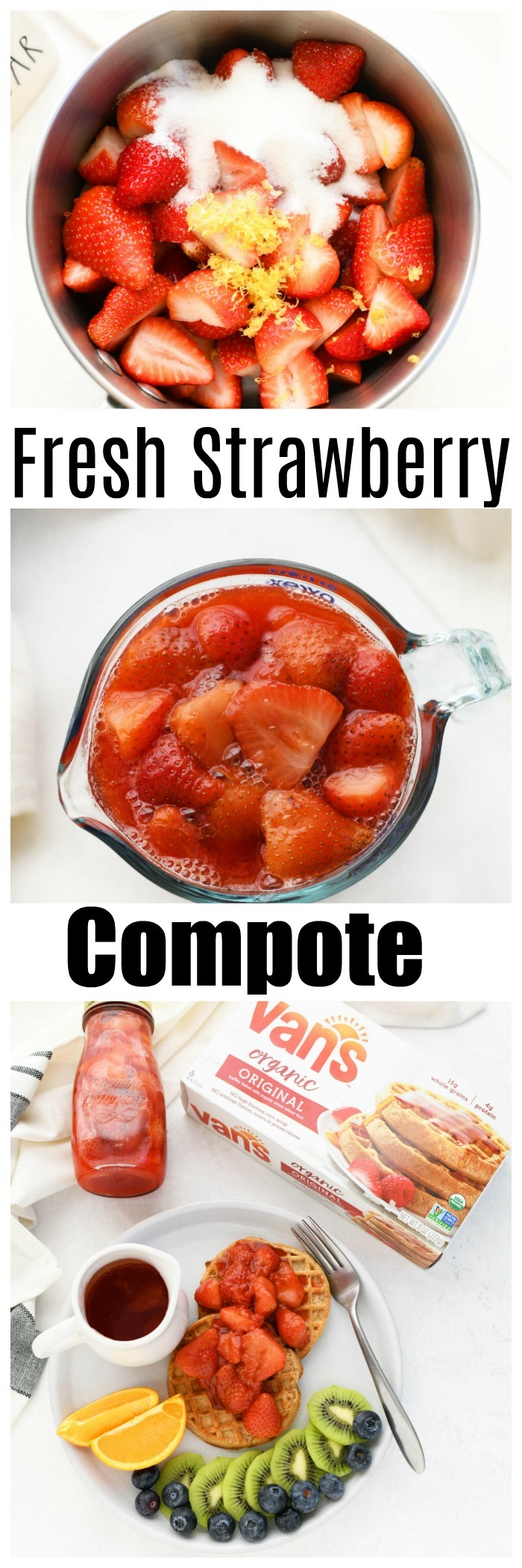 Quick & Easy Strawberry Compote Recipe