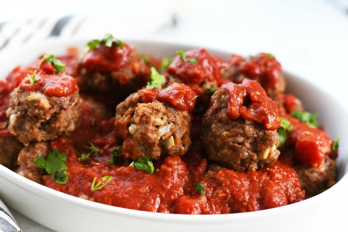 Juicy Jumbo Meatballs