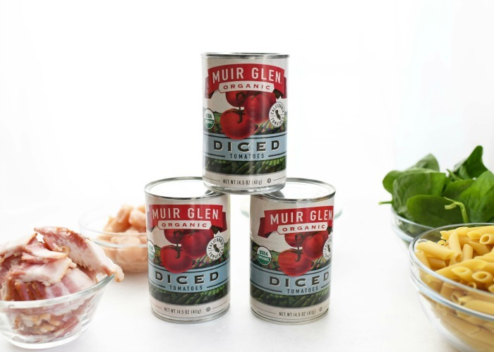 Muir Glen Organic Diced Canned Tomatoes