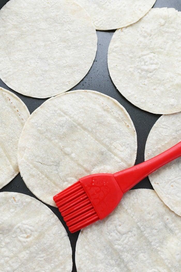 Oven baked tostadas