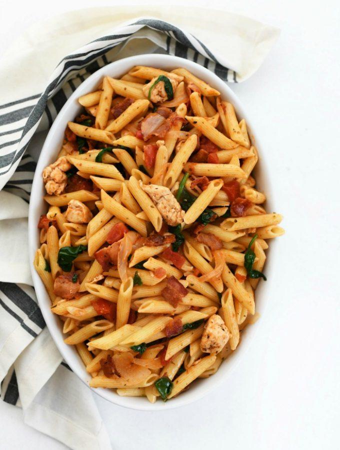 Penne Chicken and Tomato Recipe