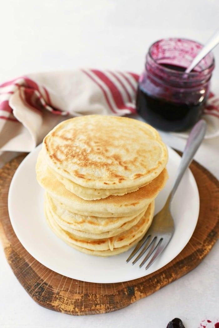 3 ingredient pancake batter