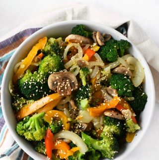Easy Garlic Vegetable Stir fry