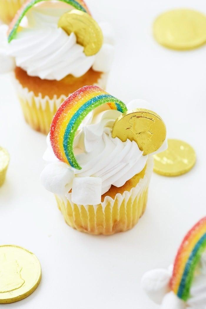 Gold Coin Cupcakes