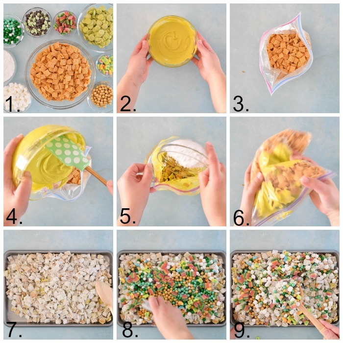 how to make leprechaun crunch