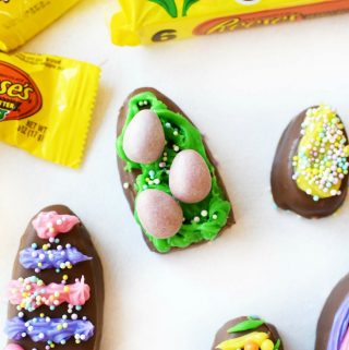Decorated Reese's Eggs