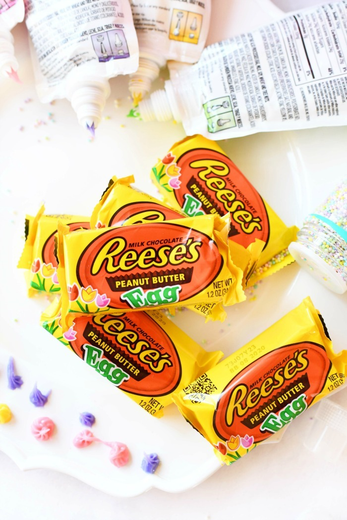 Reeses Egg Decorating