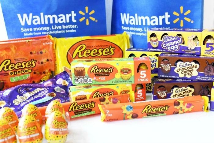 Reese's Peanut Butter Eggs and Cadbury Eggs