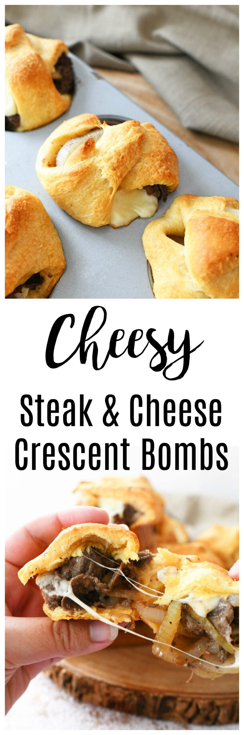 Steak & Cheese Bombs
