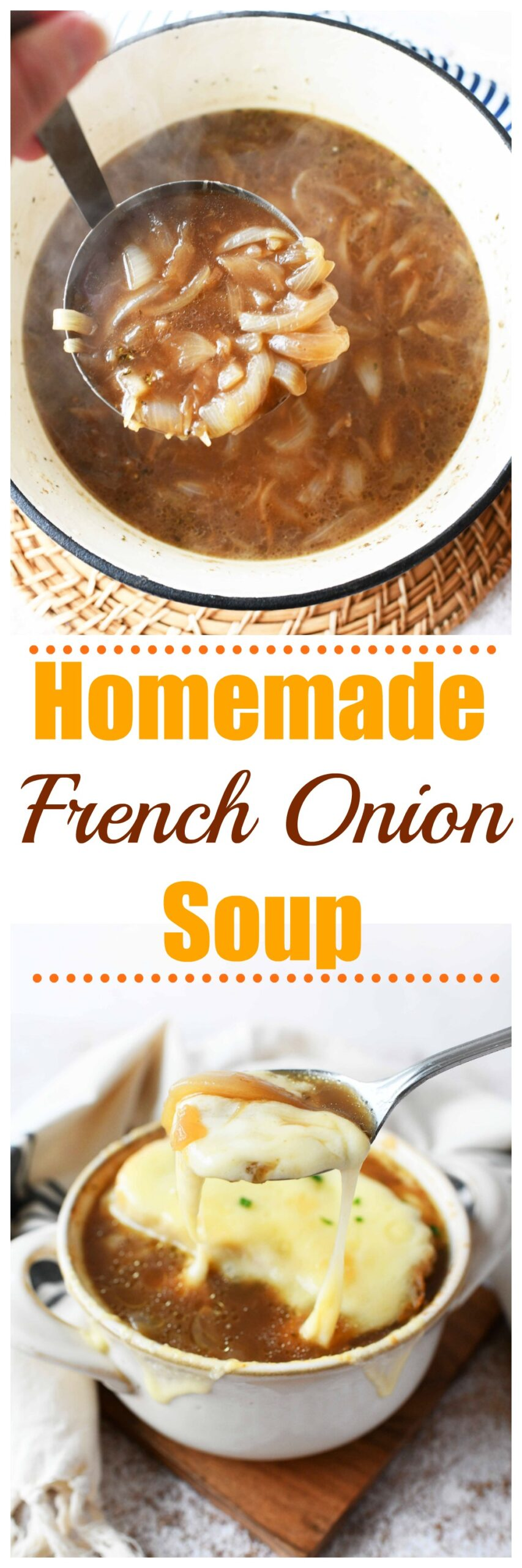 French Onion Soup made with Vidalia Onions