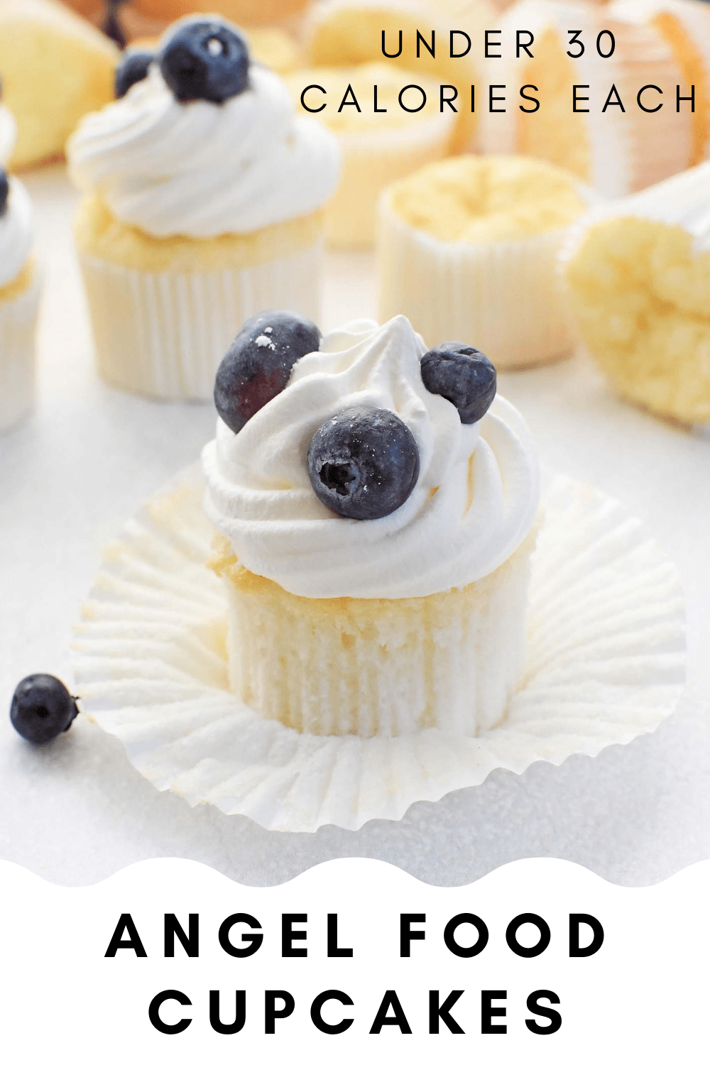 Angel Food Cupcakes (Absolutely Heavenly)