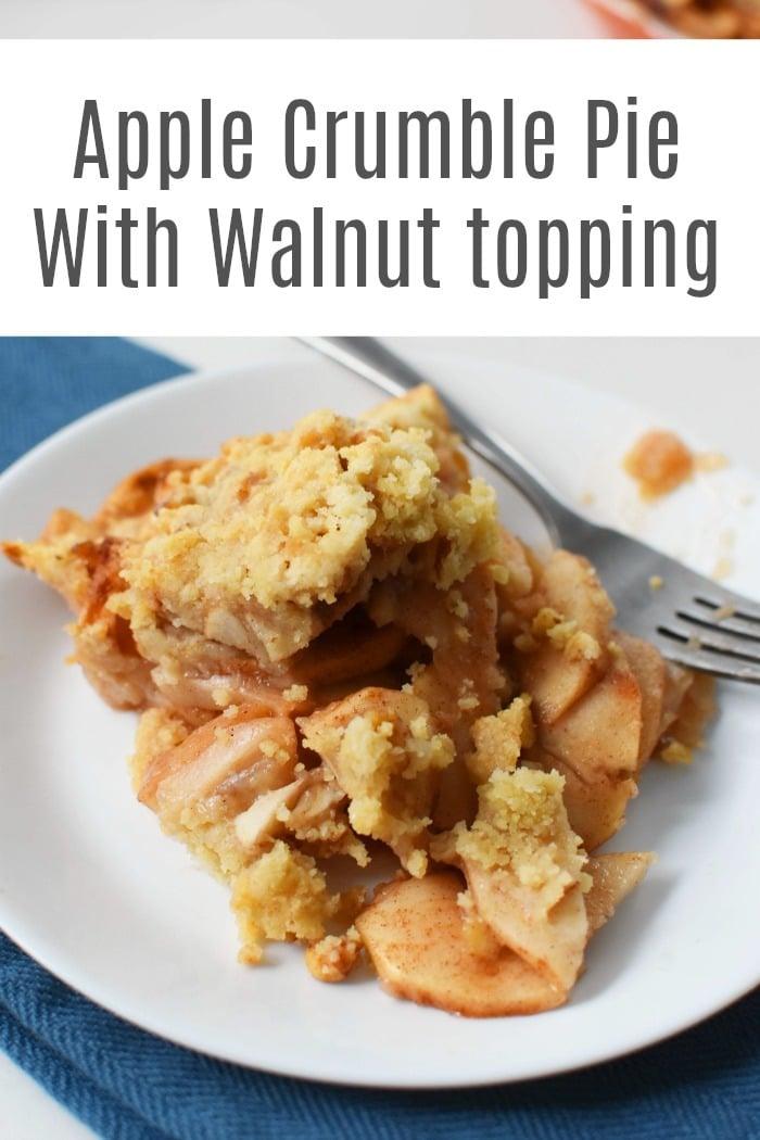 Apple Crumble Pie Recipe (A Classic Favorite)