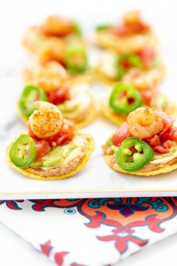 rotel shrimp nachos