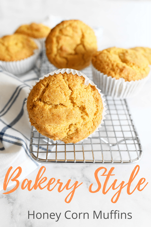 Jumbo Bakery Style Cornbread Muffins
