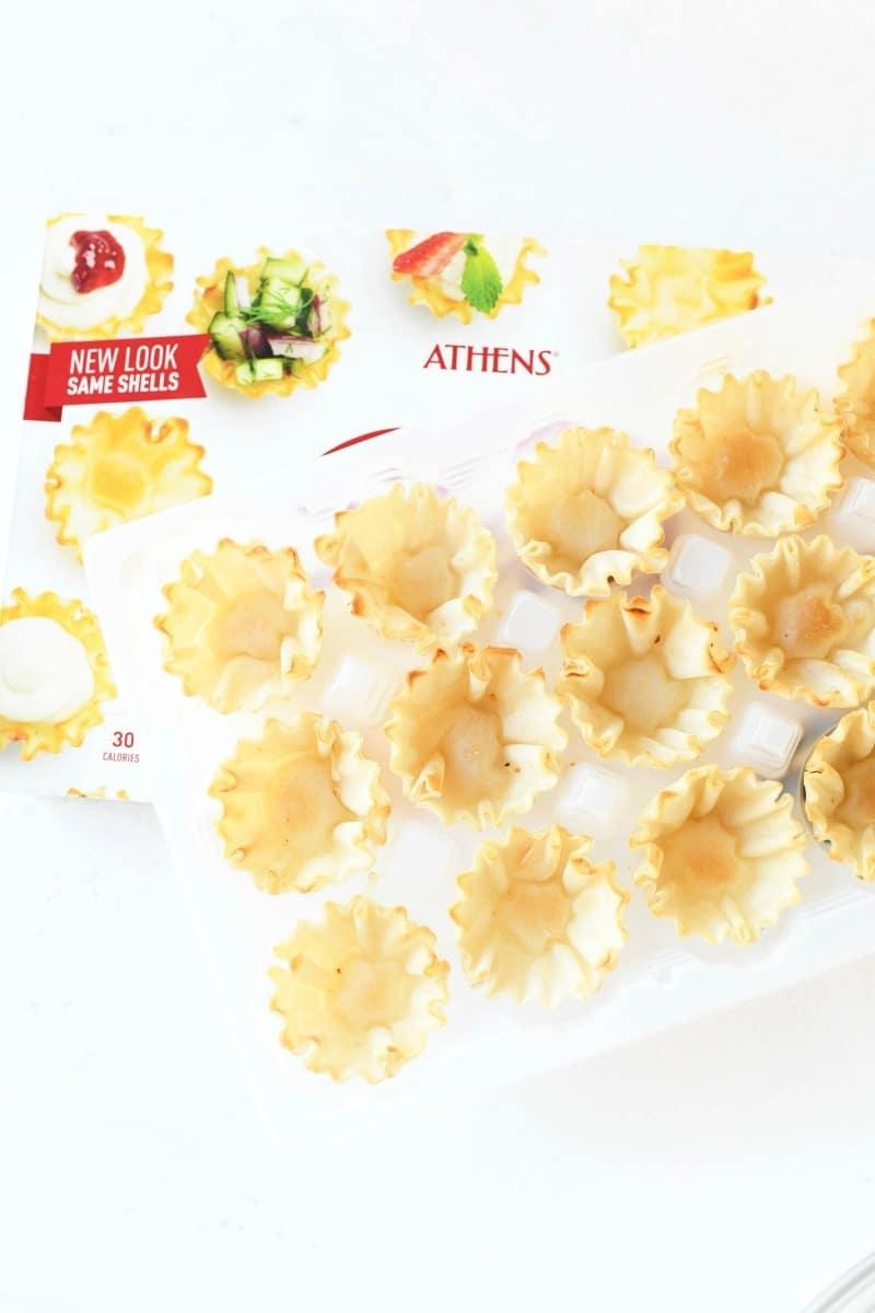 Athens shells unbaked.