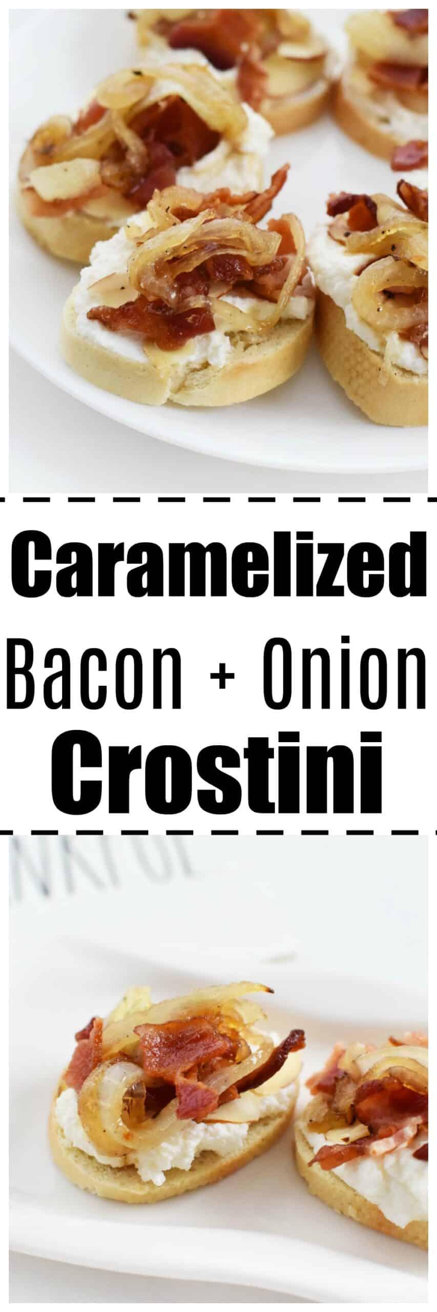 The Best Bacon Appetizer Recipe (Bacon & Onion Crostini)