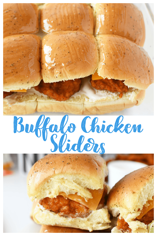 Easy Buffalo Chicken Sliders Recipe