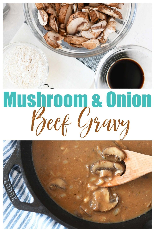 Irresistible Mushroom Onion Gravy Recipe