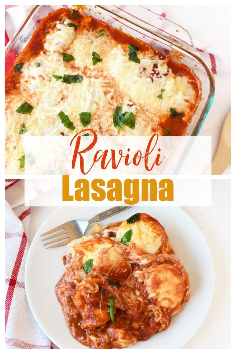 Ravioli Lasagna Recipe - Super Simple!!