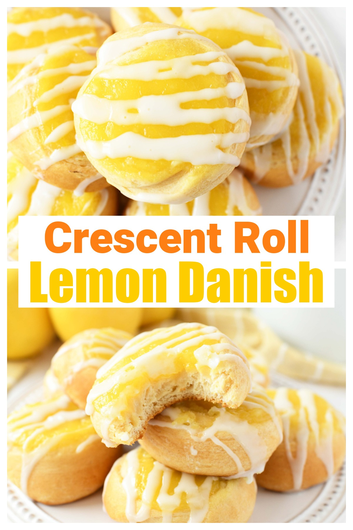 Lemon Curd Crescent Danish Recipe