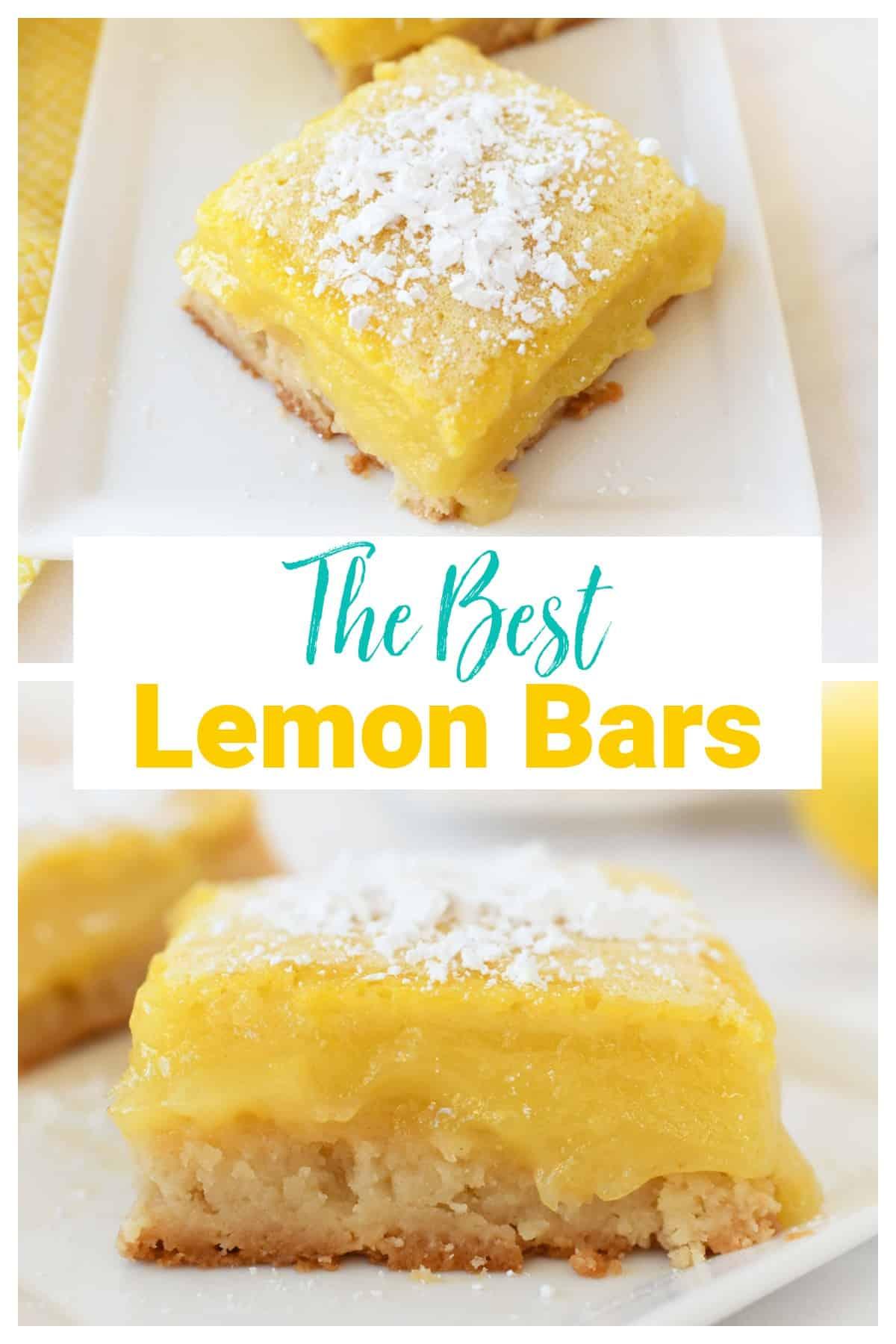 Mouthwatering Easy Lemon Bars Recipe