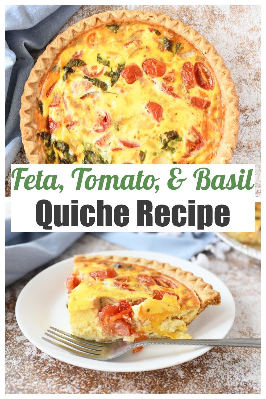 Feta Tomato Quiche Recipe